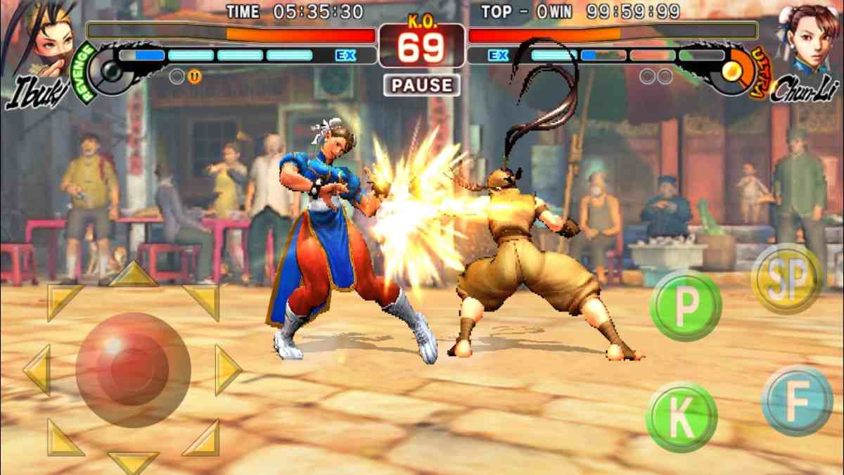 Street Fighter IV Champion Edition genial apk para android